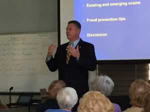 Middlesex County Sheriff Peter J. Koutoujian at Pleasant Street Center